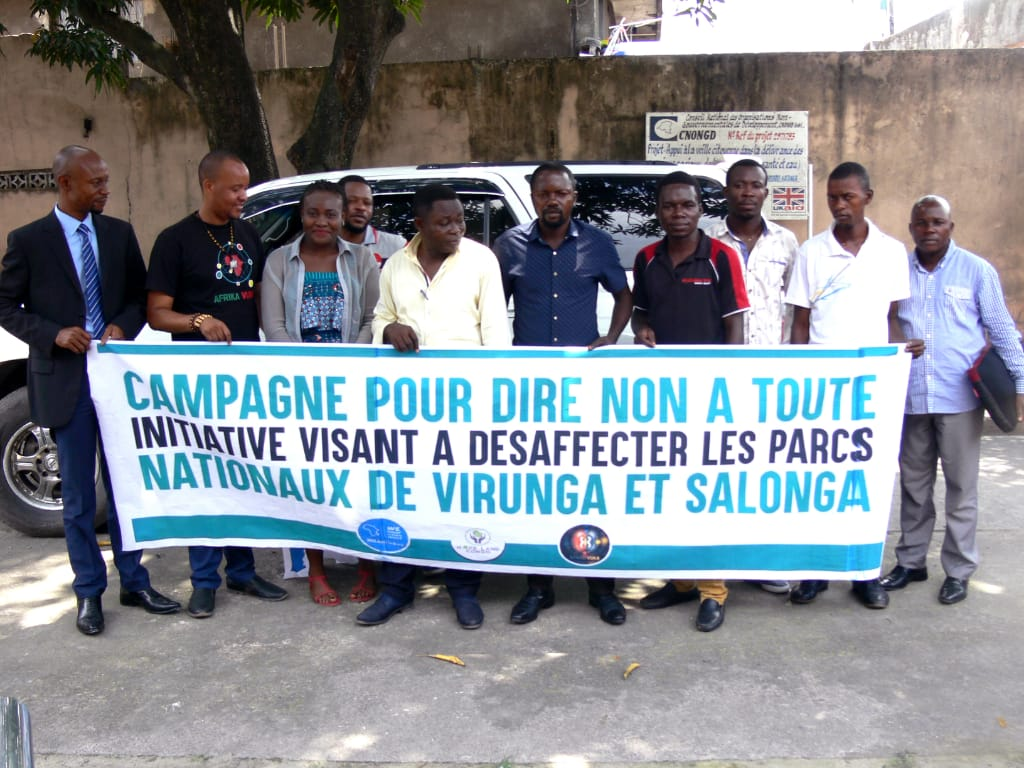 Les OSC disent non à toute initiative visant à désaffecter Virunga et Salonga