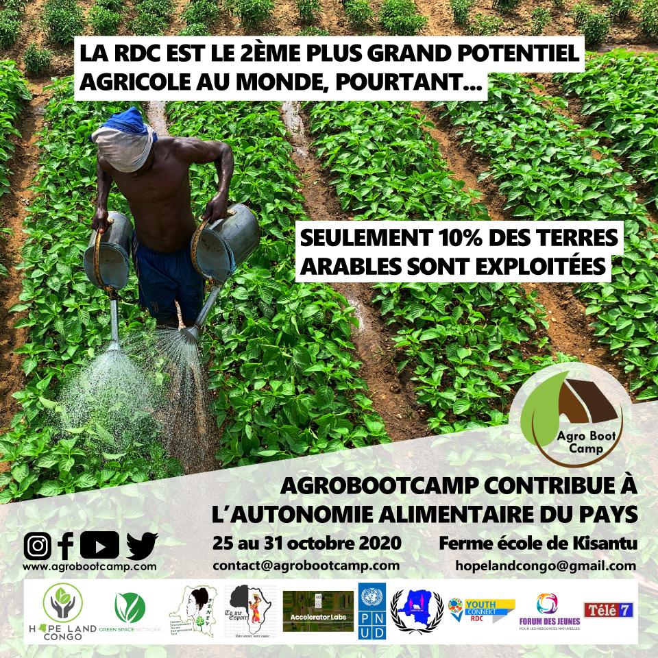 La République Démocratique du Congo accueille la 5e édition d'AgroBootCamp !